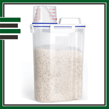 Best Airtight Double Cereal Container
