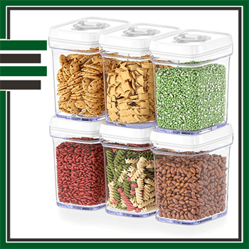 Best 6 Piece Airtight Food Storage Containers
