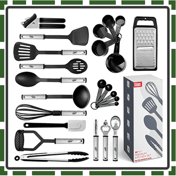 Best Nylon Utensils Sets for Cooking and Baking