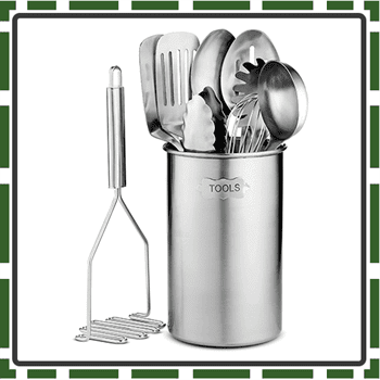 Best Stainless Steel Utensils Sets for Cooking and Baking