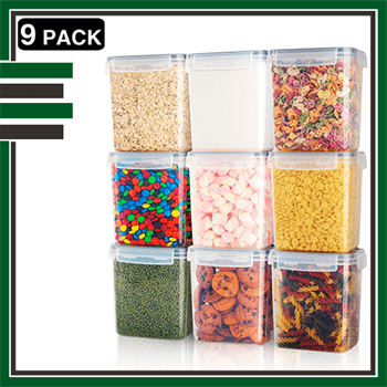 Best 9 Piece Airtight Food Storage Containers