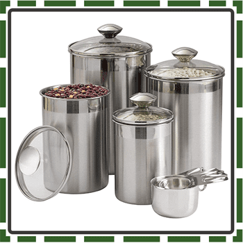 Best 8 Piece Food Canister Sets