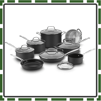 Best Anodized Nonstick Cookware Sets