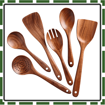 Best Wooden Utensils Sets for Cooking and Baking