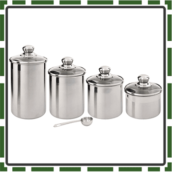 Best 4 Piece Food Canister Sets