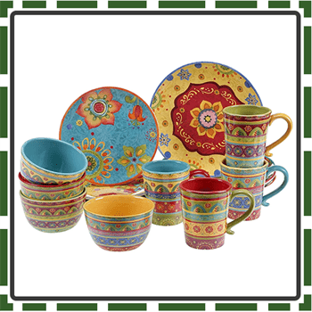 Best Colorful Dinnerware Sets