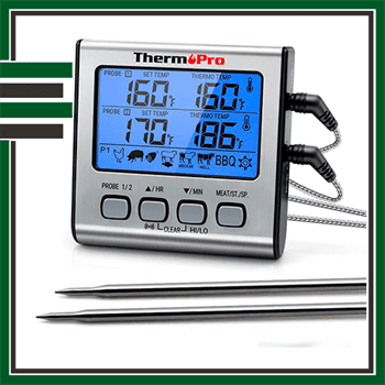 Best Dual Digital Meat Thermometer