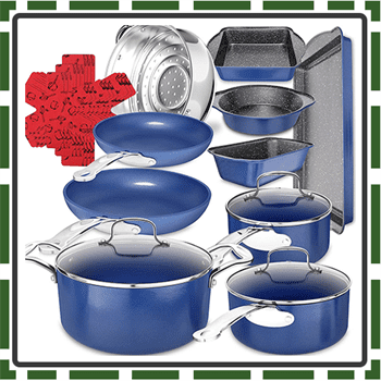 Best Marble Coated Cookware Set