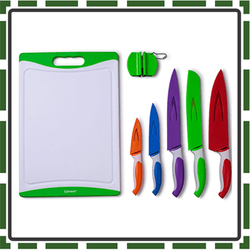 Best Stainless Steel Colorful Knife Set