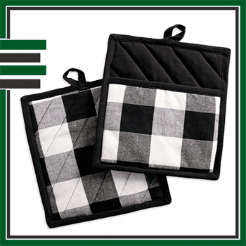 Best Plaid Oven Mitts and Pot Holders
