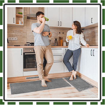 Best Delxo Washable Rugs for Kitchen
