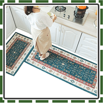Best Blue Washable Rugs for Kitchen